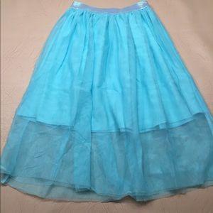 Girls Teal Skirt
